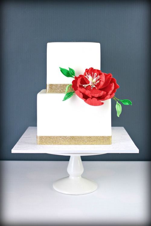 Gold Wedding Cake 3 Orig