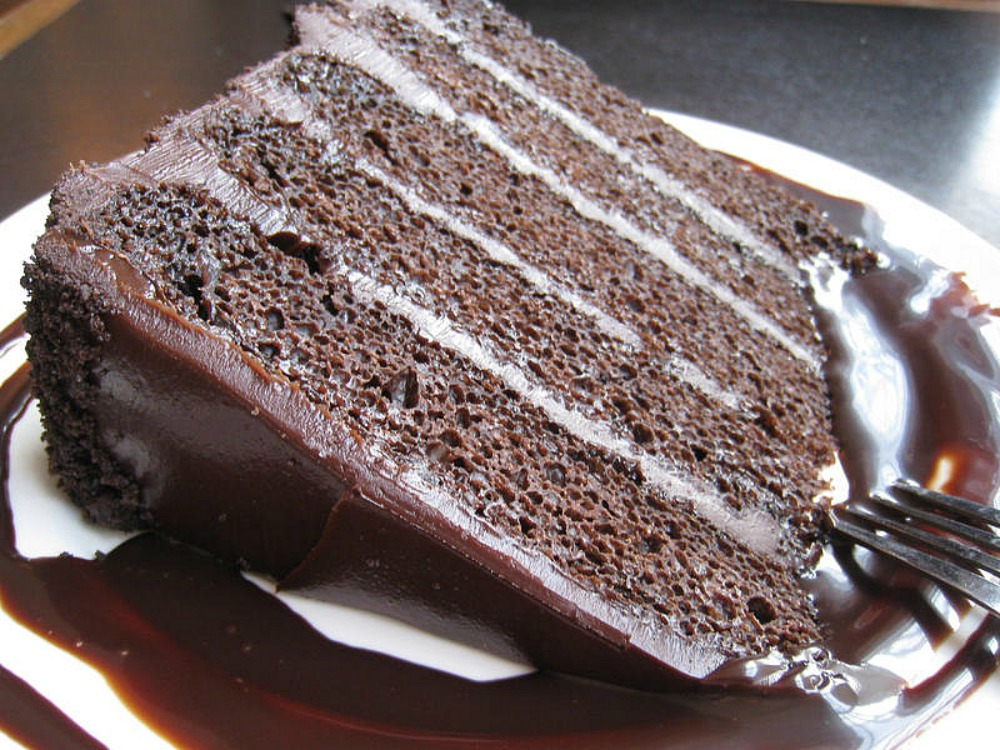 Sono Chocolate Ganache Cake This Week For Dinner Slice